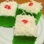 Resep Brownies Kukus Pandan Super Lembut dan Lezat, Cuma 2 Telur