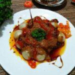 Resep Cilok Bumbu Kacang Pedas, Kenyal dan Gurih