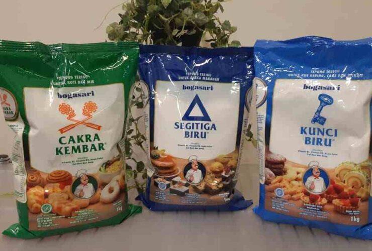 3 Jenis Tepung Terigu Protein Rendah, Sedang dan Tinggi