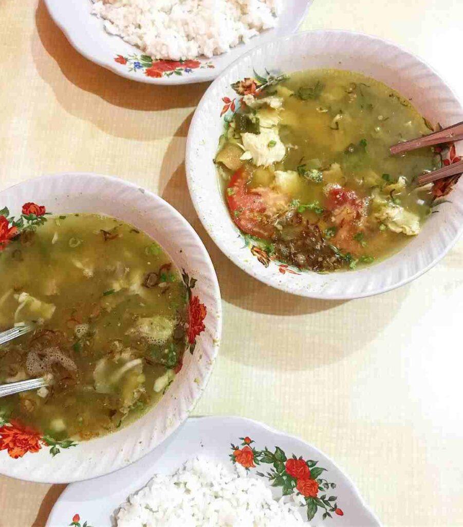 Wisata Kuliner Tebet Soto Gebrak