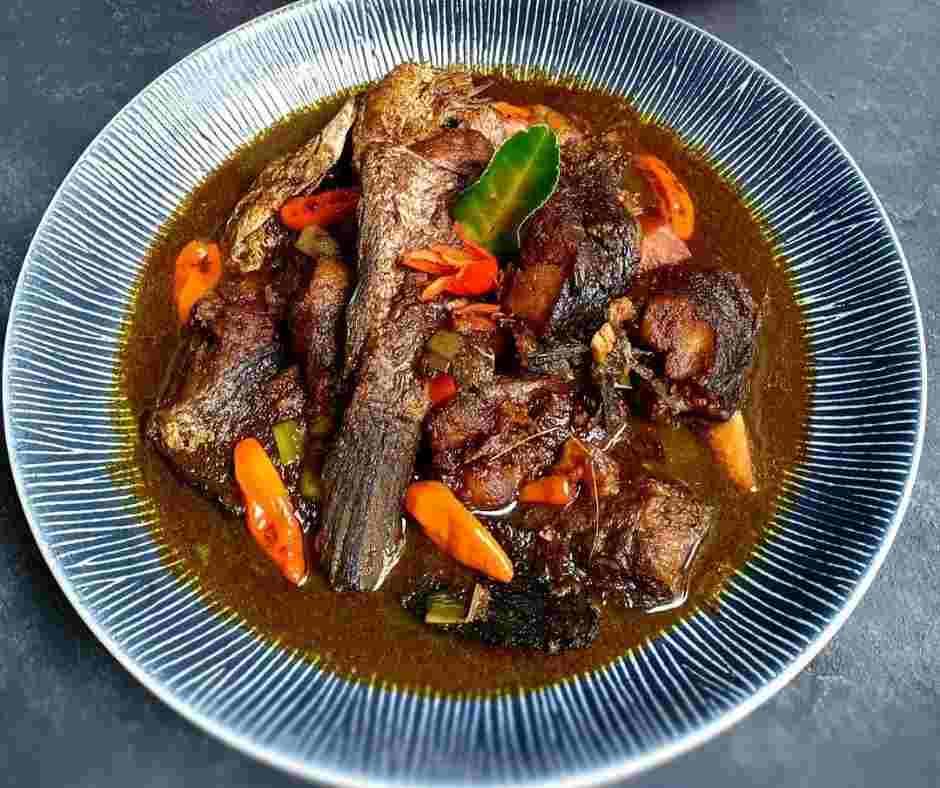 Makanan khas betwai Gabus Pucung