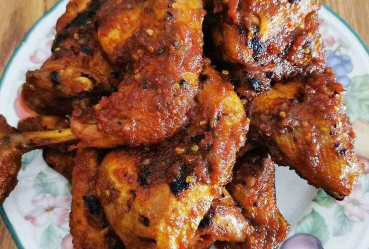 Resep Ayam Bakar Bumbu Rujak Gurih Tanpa Santan